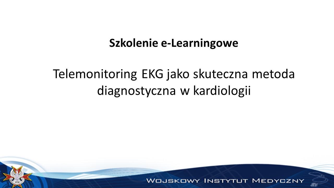 Telemonitoring EKG jako skuteczna metoda diagnostyczna w kardiologii